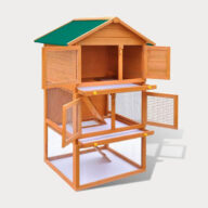 Rabbit cage pet house European standards Size 92x 80x 160cm 06-0006 Rabbit Cage & Wood, Wooden Rabbit House Cage