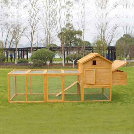 Chicken Cage: Wooden Hen Coop Egg House Wooden pet house rabbit cage 327x 105x 133cm SPF material 06-0033 Wooden pet house rabbit cage 327x 105x 133cm SPF material 06-0033