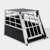 Small Single Door Dog cage 65a 60cm 06-0766 Dog House: Pet Products, Dog Goods Dog Cage