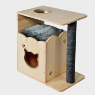 Pet Cat Furniture, Cat Tree Wood 06-0188