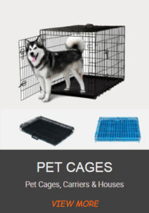 Pet dog cat cages products factory