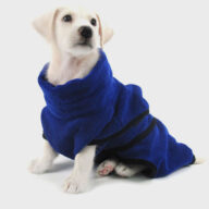 Pet Super Absorbent and Quick-drying Dog Bathrobe Pajamas Cat Dog Clothes Pet Supplies Dog Clothes: Shirts, Sweaters & Jackets Apparel