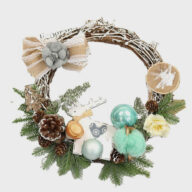 Christmas decoration (1301) wreaths window decorations wholesale christmas decoration supplies wreaths window decorations wholesale christmas decoration supplies